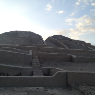 The Cahuachi Ruins in Peru.