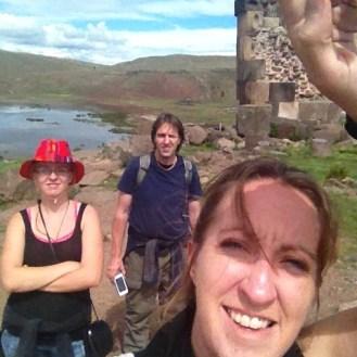 Puno Peru Selfie Sillustani