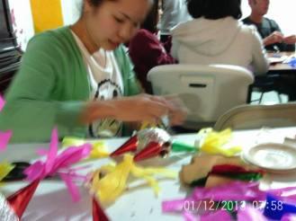Making Pinatas Escuela Falcon Guanajuato Mexico 18