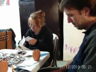 Making Pinatas Escuela Falcon Guanajuato Mexico 4
