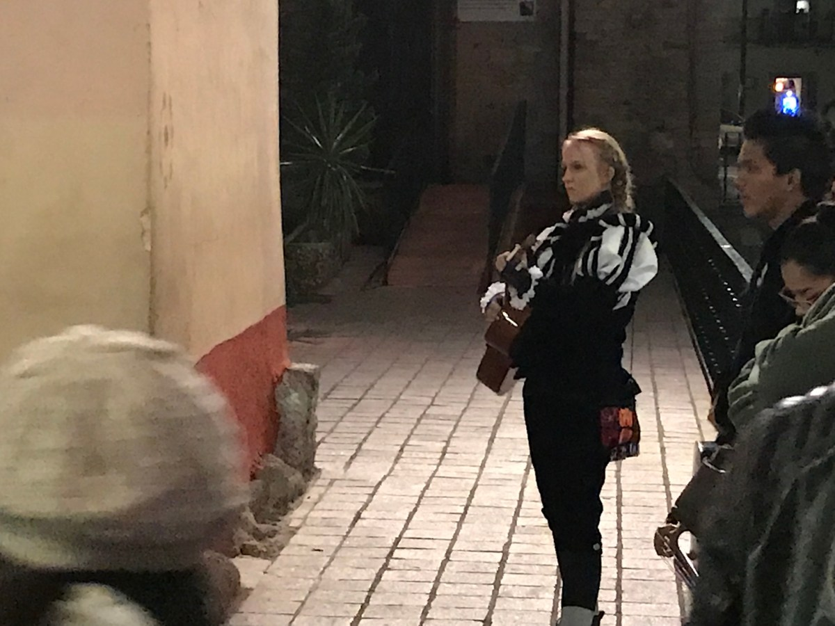 Lydian Performs with the Estudiantina Group in Guanajuato: Part II