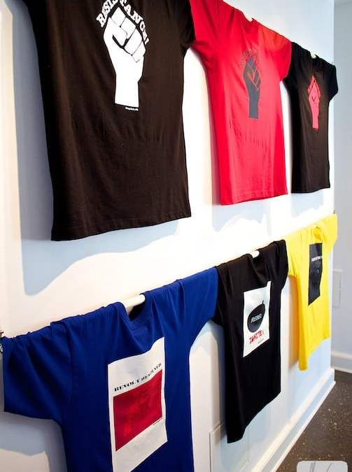 T-shirts at Bittes Gallery