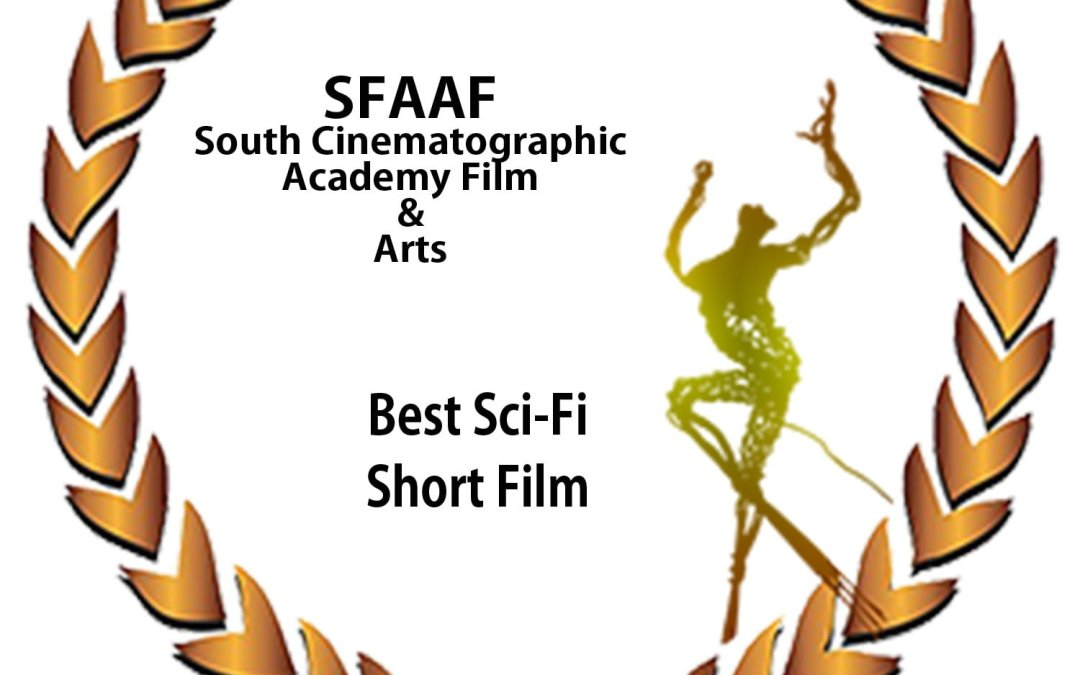 We won Best Sci-Fi Short & Best Costume Design + Honorable Mention for the Screenplay