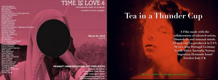 TIME IS LOVE 6. & TEA IN A THUNDER CUP double header in NEW YORK the 23 March 2013