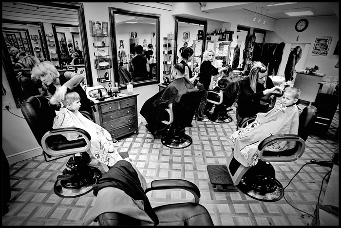 polski fryzjer w Dublinie