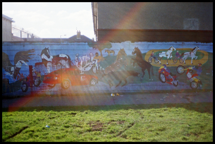 mural w sercu Finglas West / mural in the middle od Finglas West