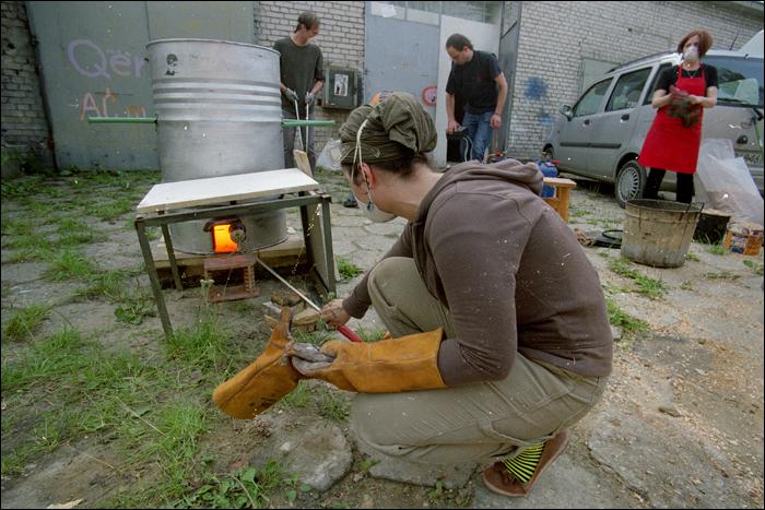Hasarapasa - wypalanie ceramiki