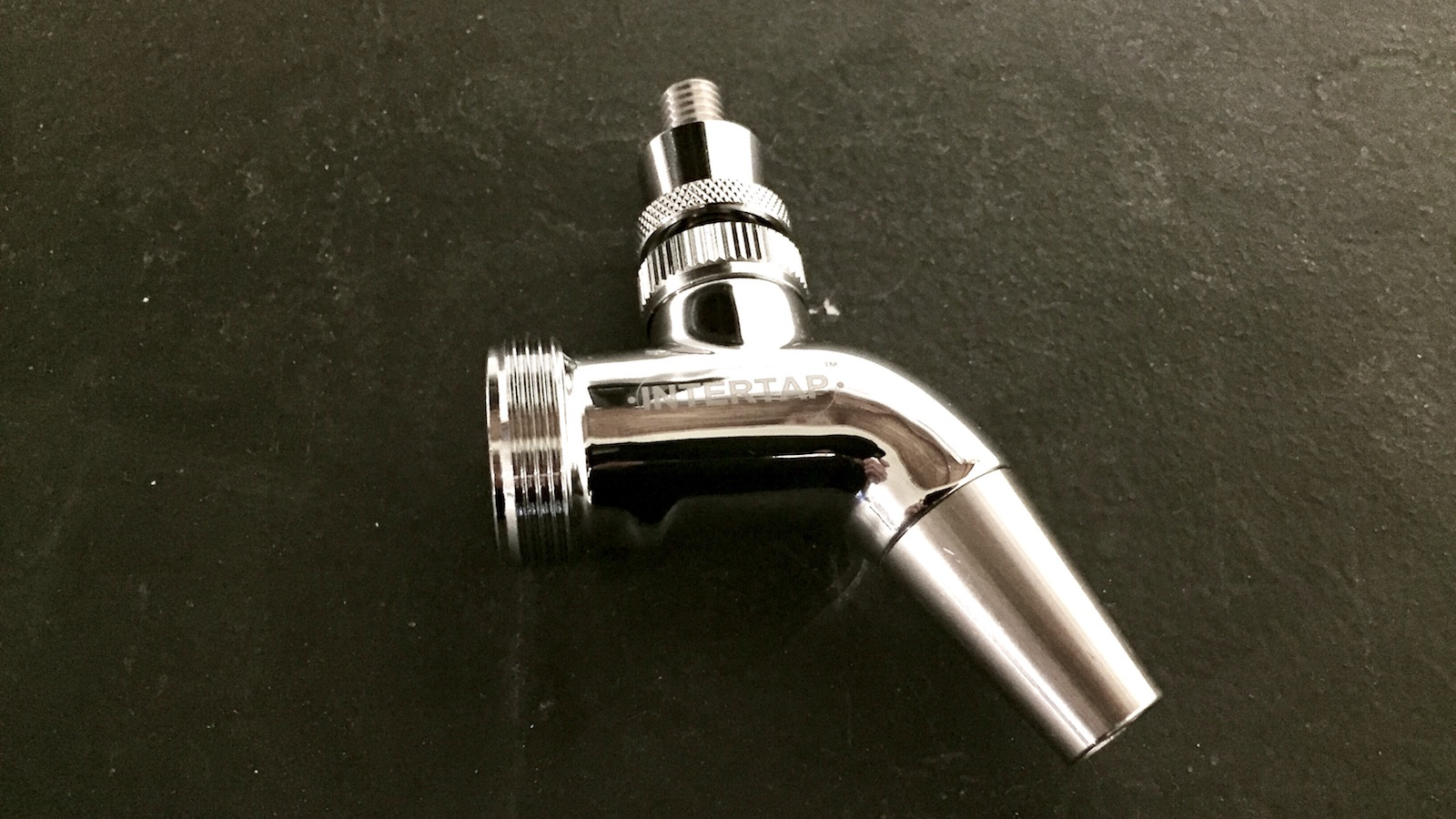 Intertap Ball Lock Spout Interchangeable Stainless For Beer Guns and Cleaning