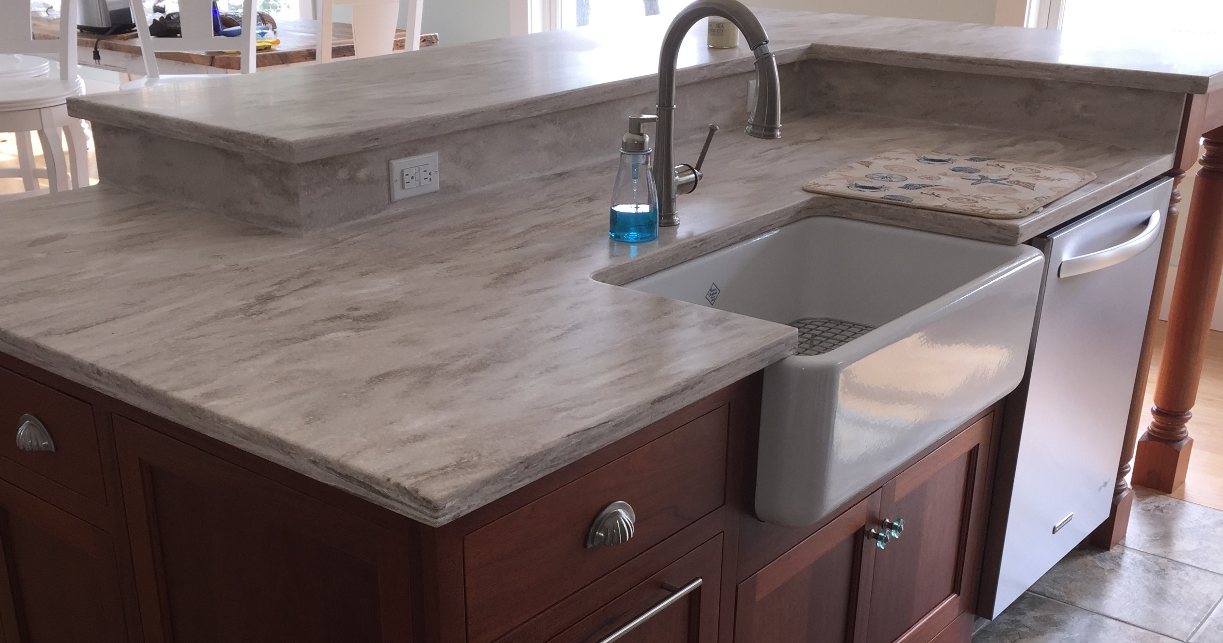 We Are Also A Certified Dupont CORIAN Fabricator Featuring Not Only Custom  Countertops But Also Corian Farm Sinks And Tub Decks With Coved Inside  Corners ...