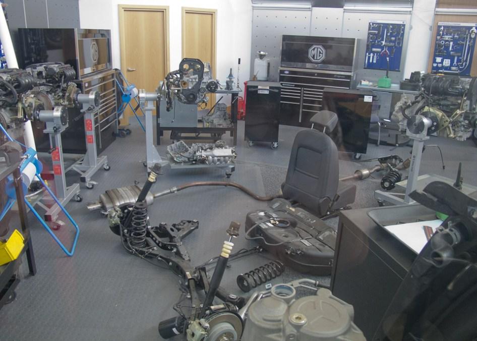 MG Dealer Mechanic Training Centre