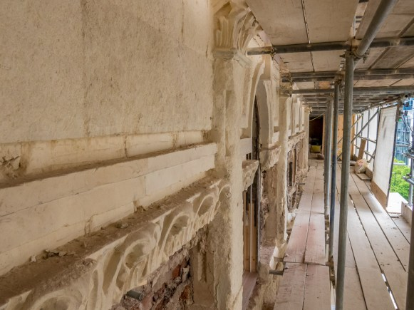 Colmore Row side and some substantial and skilfull renovation needed