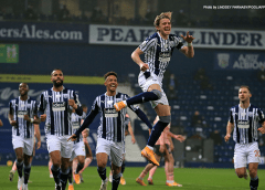Baggies ride their luck but emerge with a first win