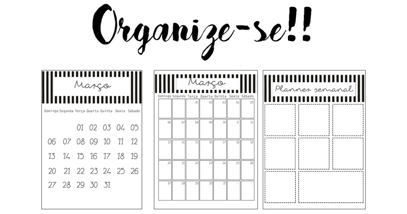 Calendario março 2016