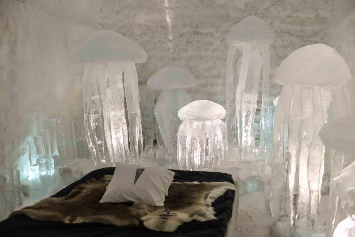 quarto hotel de gelo