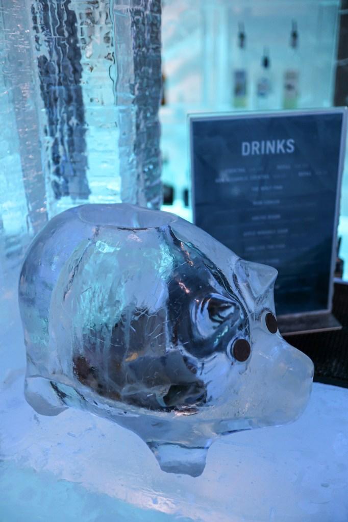 Ice bar no ice Hotel em Kiruna