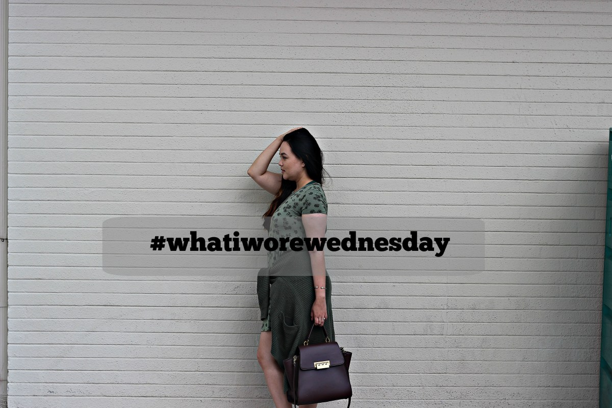 #whatiworewednesday: military green theme