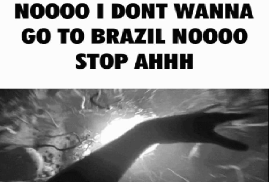 Going to Brazil meme