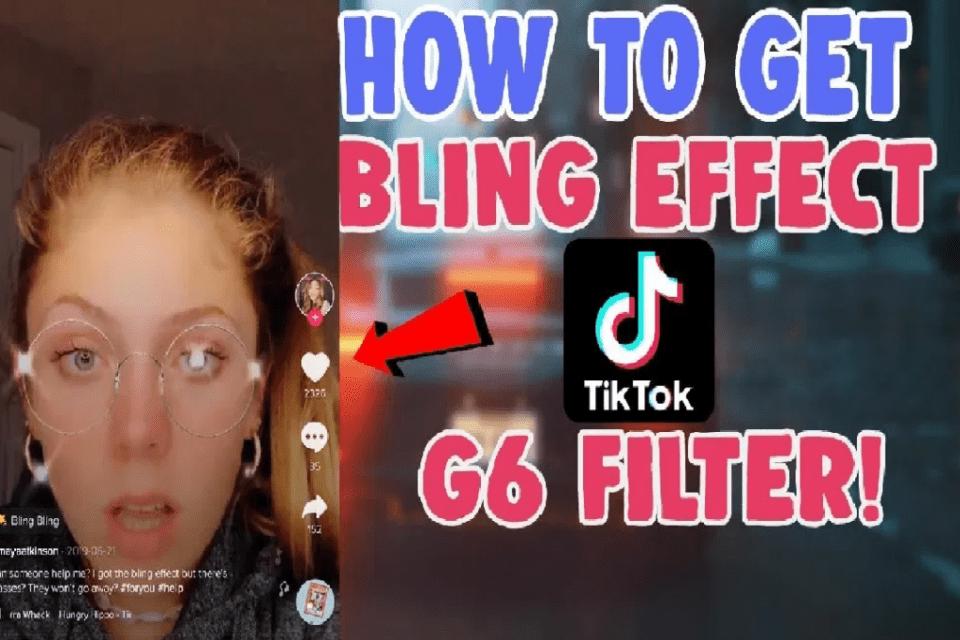 Image of g6 bling effect