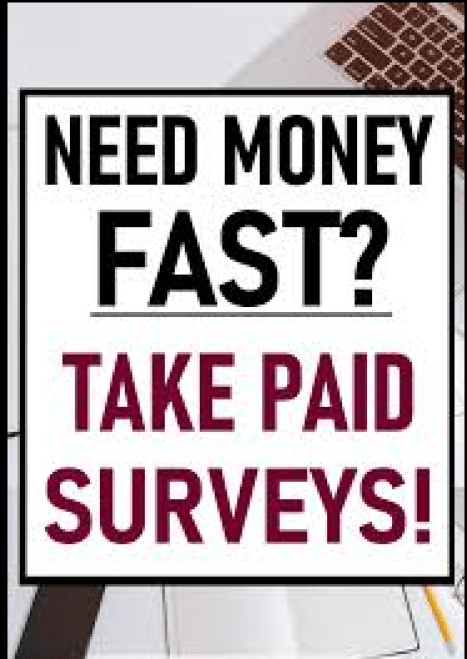 Image of get paid to take surveys online