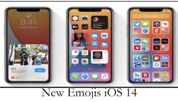 New Emojis iOS 14