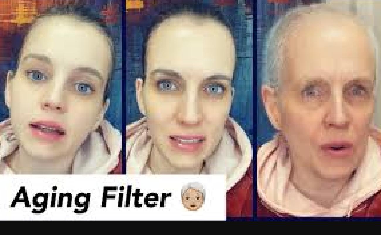 Aging Filter TikTok