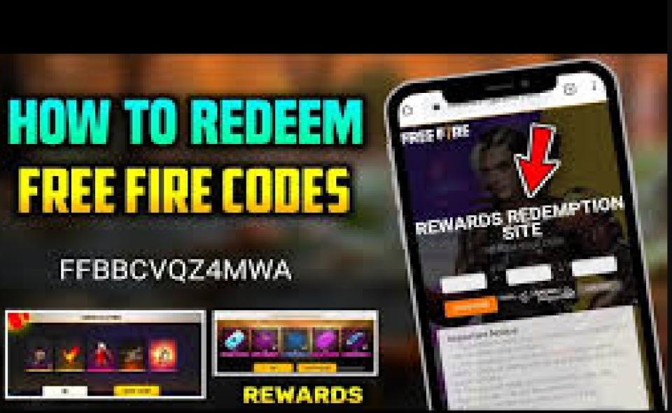 An Image of Garena Free Fire Redeem Code