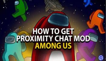 Among Us Proximity Chat