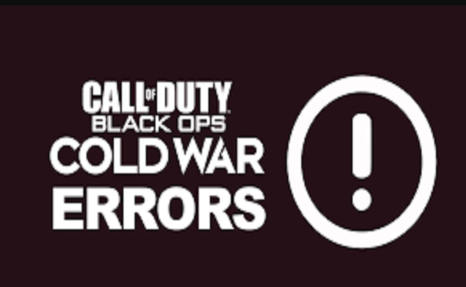 Image Of How To Fix Black Ops Cold War Errors