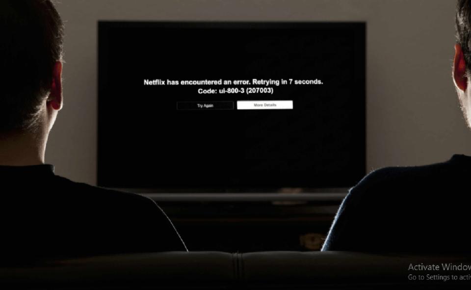 image of netflix error code