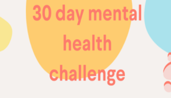 30 Day Mental Health Challenge