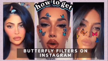Butterfly Filter Instagram