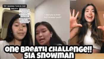 Snowman Challenge TikTok