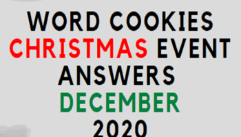 Word Cookies Christmas Event