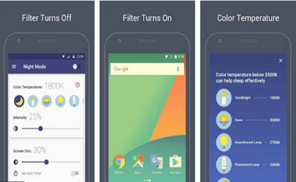 Image Of How To Activate The Blue Light Filter On Android