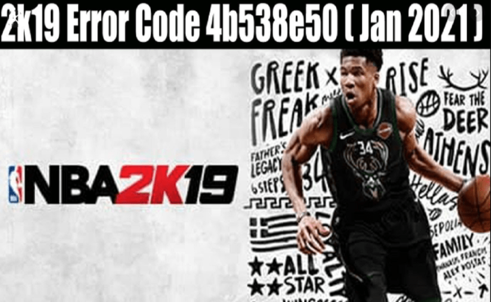 Image Of What Is Error Code 4b538e50 In 2K19