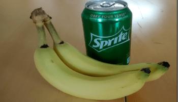 Sprite And Banana Challenge