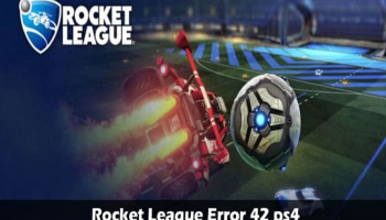 Error 42 Rocket League Ps4