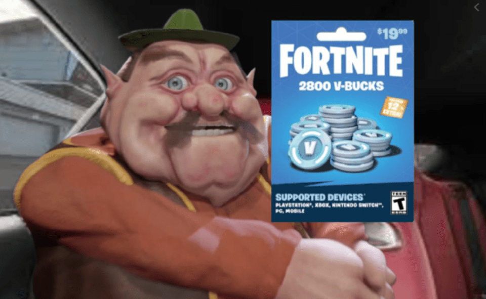 Image Of What Is 19 Dollar Fortnite Card Meme
