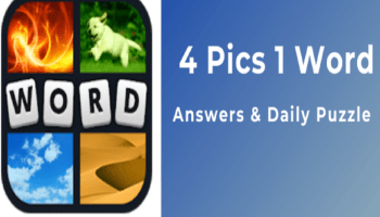 4 Pics 1 Word Daily Challenge