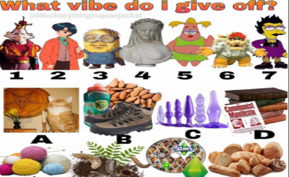 Image Of About What Vibe Do I Give Off Meme