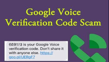 Google Voice Scam