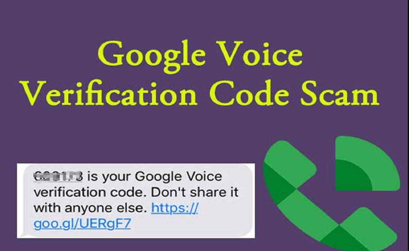 Google Voice Scam
