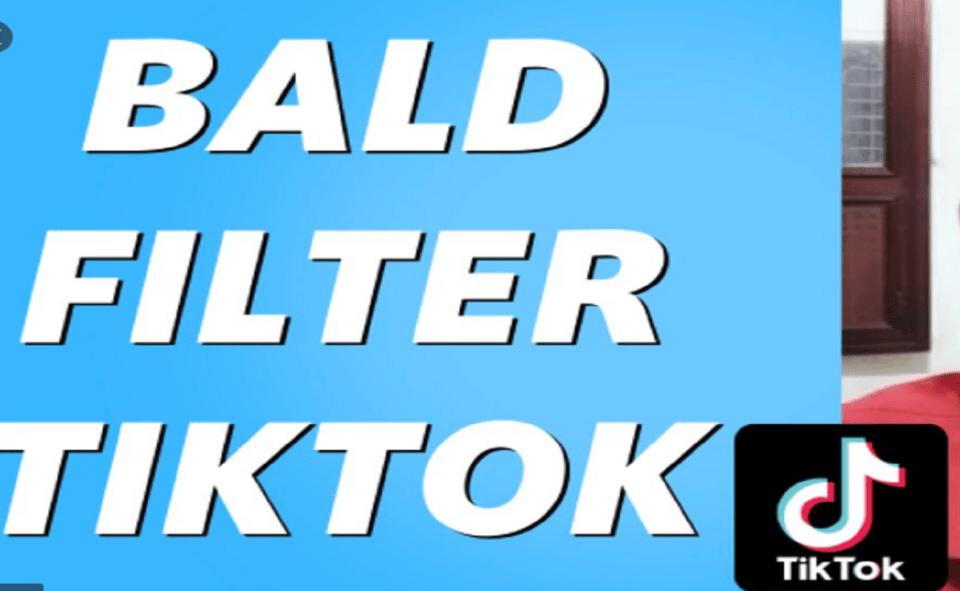 Image Of What Is Bald Filter On TikTok'