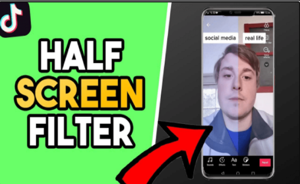 Image Of What Is Half Screen Filter