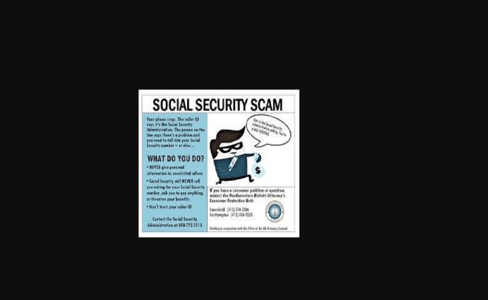 Image Of Social Security Fraud Calls 2021