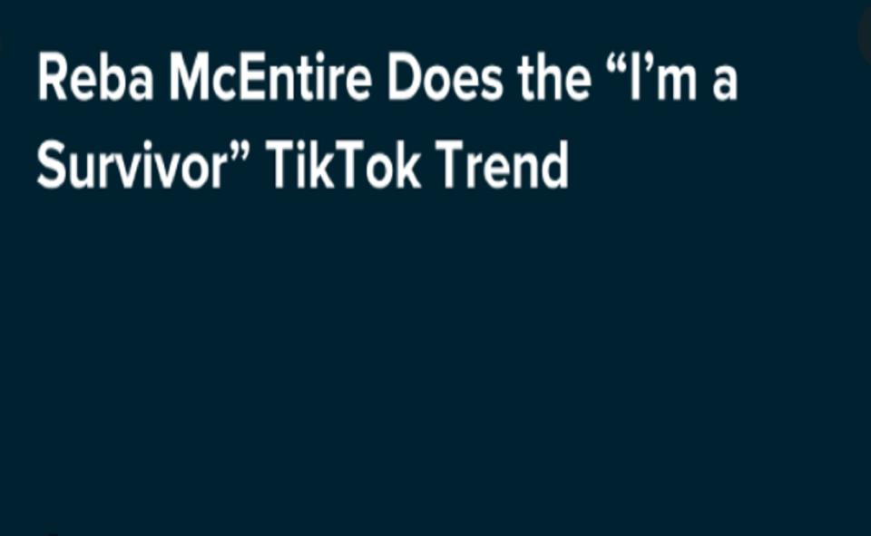 Image Of How To Do The I'M A SURVIVOR' TREND TikTok