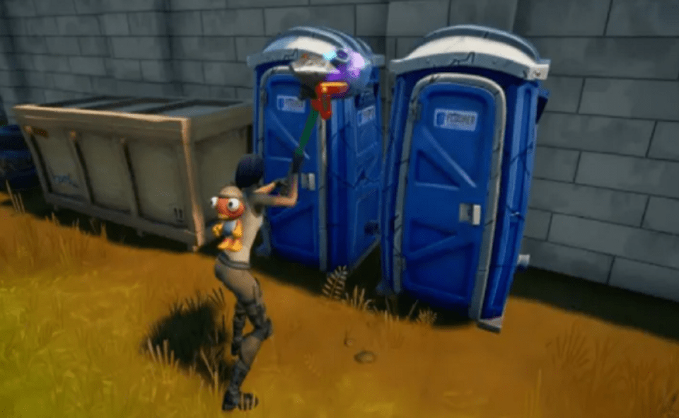 Image Of What Is Destroy Hiding Places Fortnite Challenge