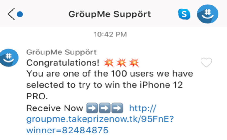Image Of What Is GroupMe Scam
