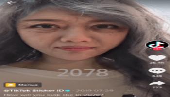 2078 Aging Filter On TikTok