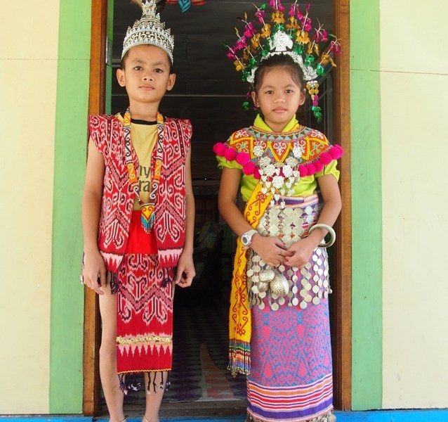 Iban traditional costume